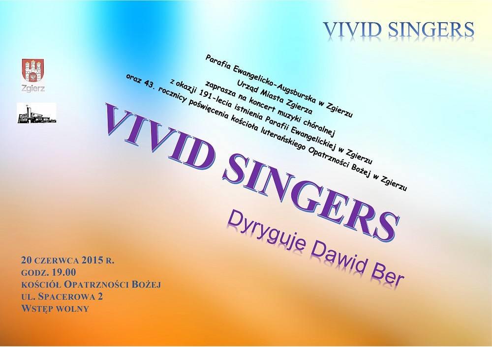 Koncert Vivid Singers